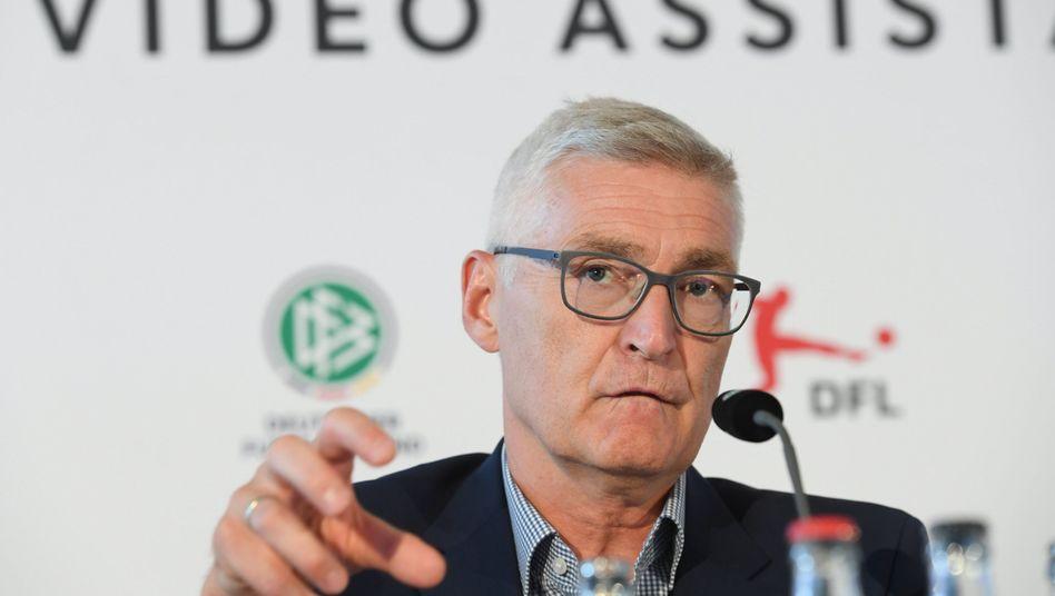 Lutz Michael Fröhlich ist Schiedsrichter-Obmann des DFB
