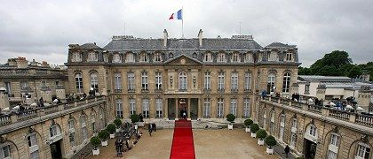 Nicolas Sarkozy, France's new president, moved into the Elysée Palace on Wednesday.