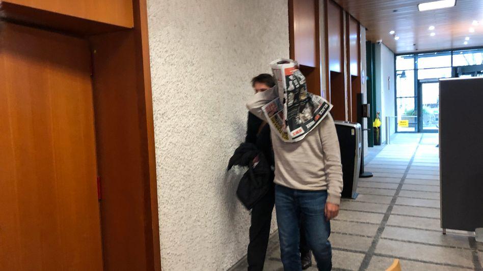 Wissan Remmo am Amtsgericht Erlangen