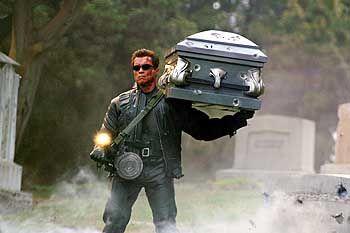 """Maschinenkrieger im Film (""""Terminator""""): """"Wenn dem Roboter was passiert, weinen keine Witwen"""""""