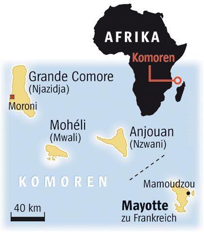 Insel Mayotte: Extremes Randgebiet der EU