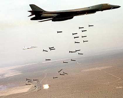 Streubomben wie diese wurden zum Beispiel im Irak eingesetzt