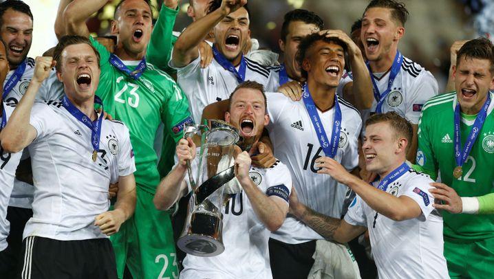 Erfolg gegen Spanien: Deutschlands U21 krönt sich mit EM-Titel