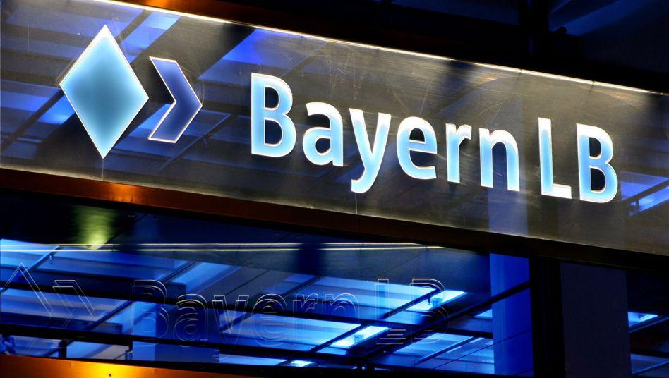 Logo der BayernLB: Eingeständnis des Scheiterns