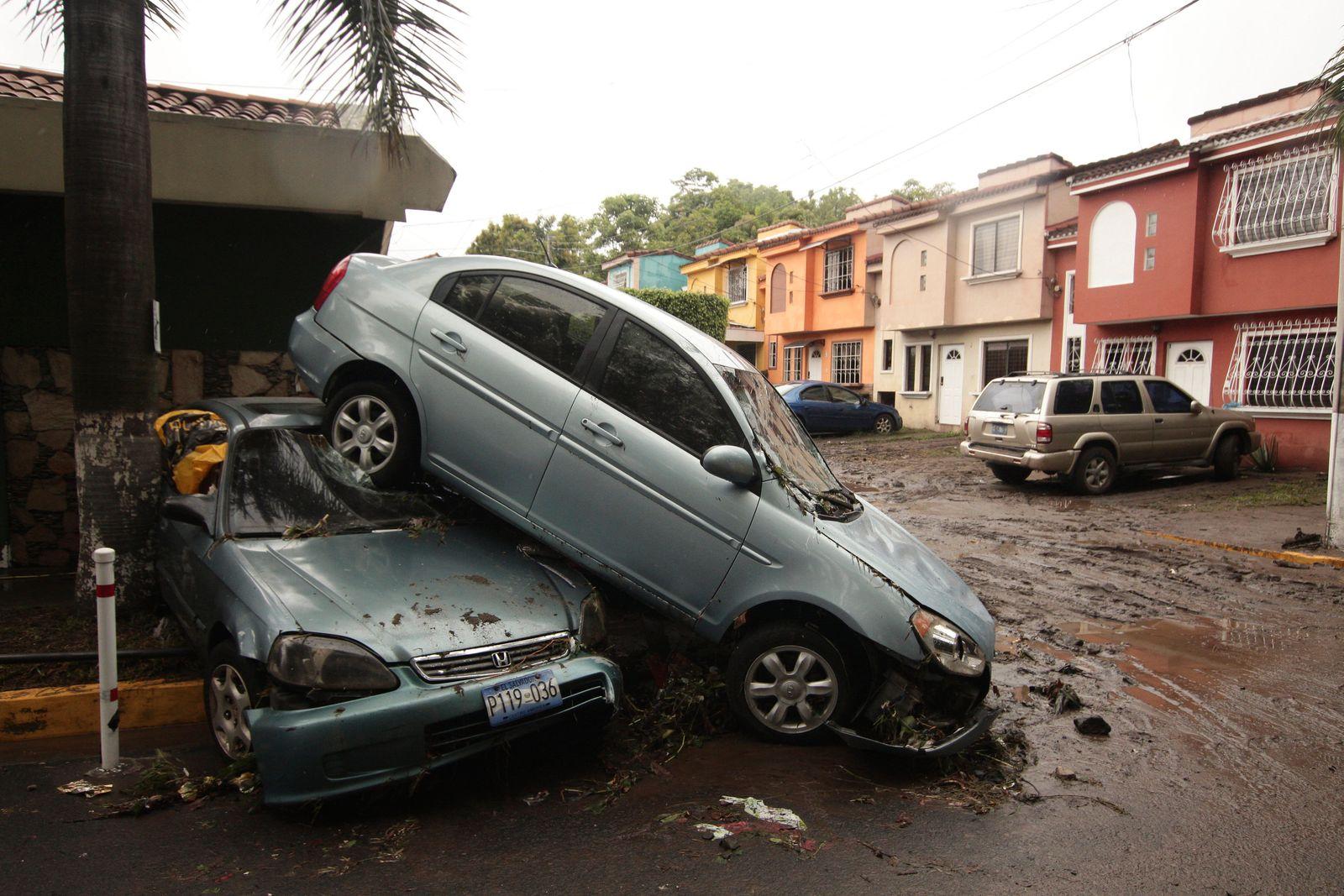 Tropensturm «Amanda» in El Salvador