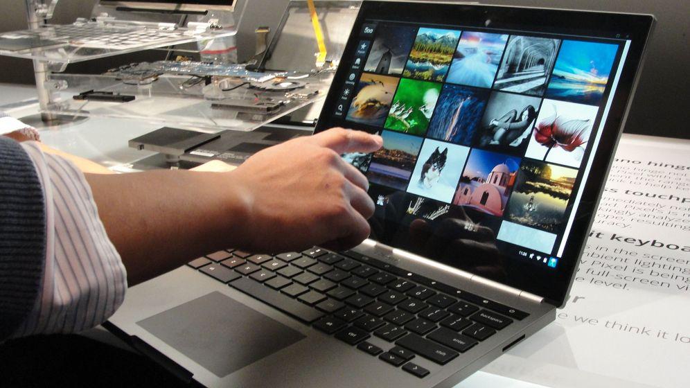 Cloud-Notebook: Google stellt das Chromebook Pixel vor