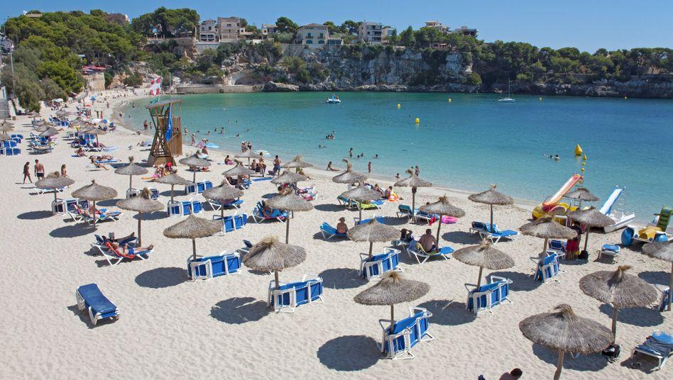 Badestrand Porto Cristo auf Mallorca: Langsame Rückkehr zum Tourismus