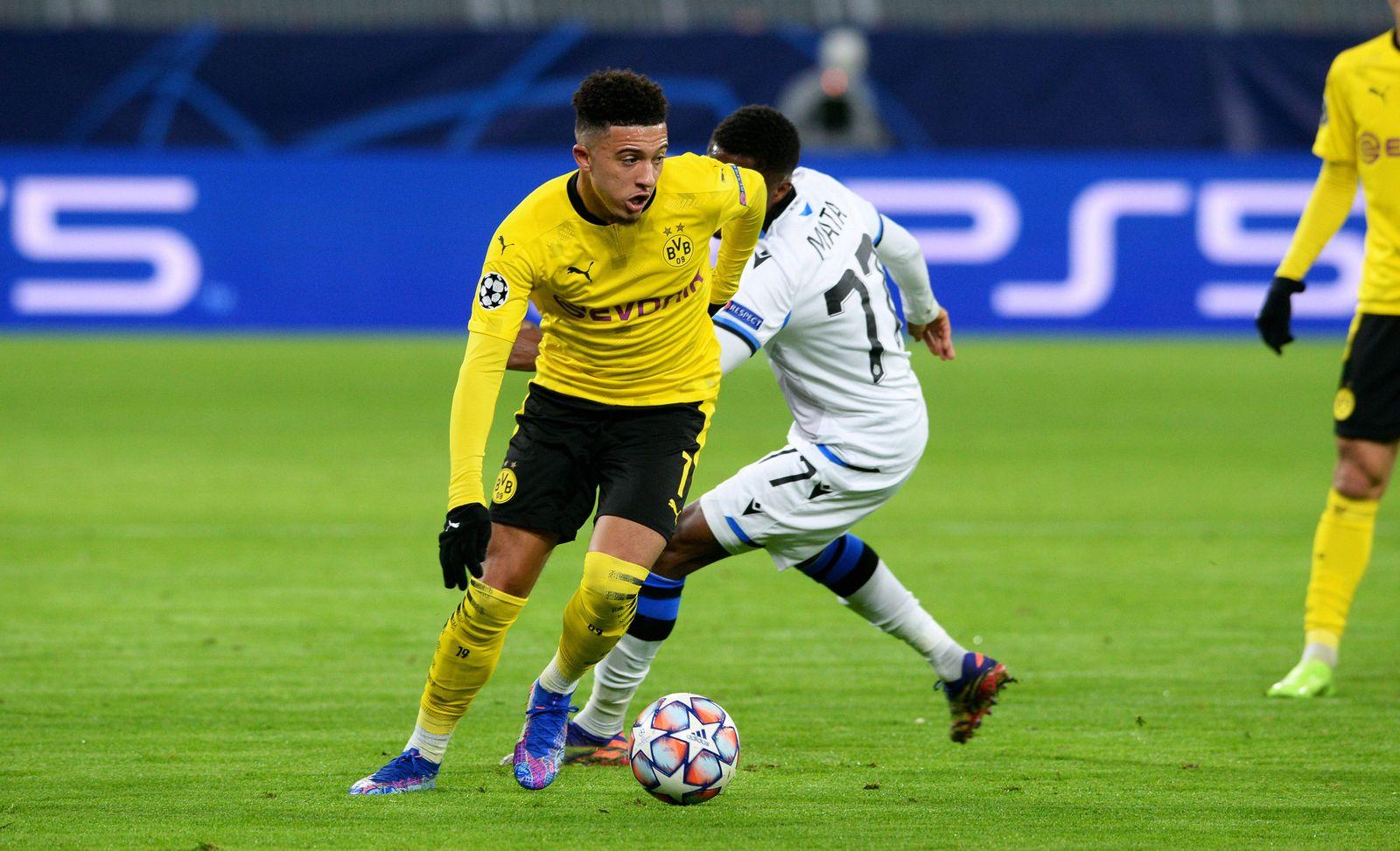 Fussball, UEFA Champions League, Herren, Saison 2020/2021, Gruppe F, 4. Spieltag, Signal Iduna Park Dortmund, Bor. Dort