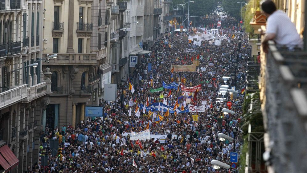 Photo Gallery: Spaniards Stage Widespread Austerity Protests
