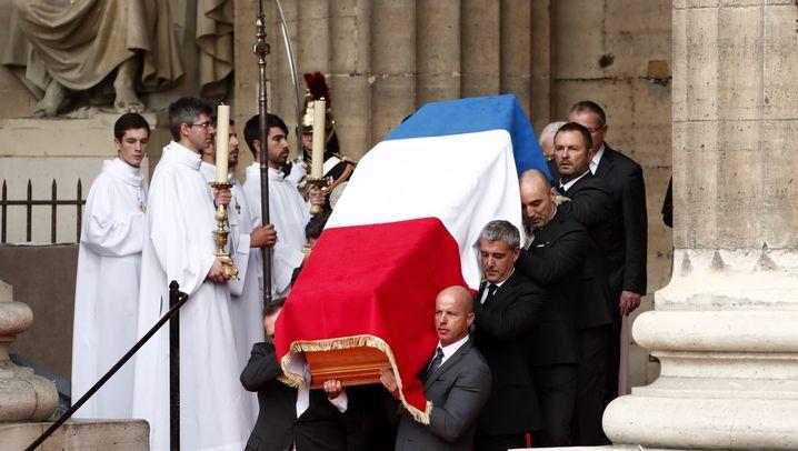 Trauerfeier in Paris: Abschied von Chirac