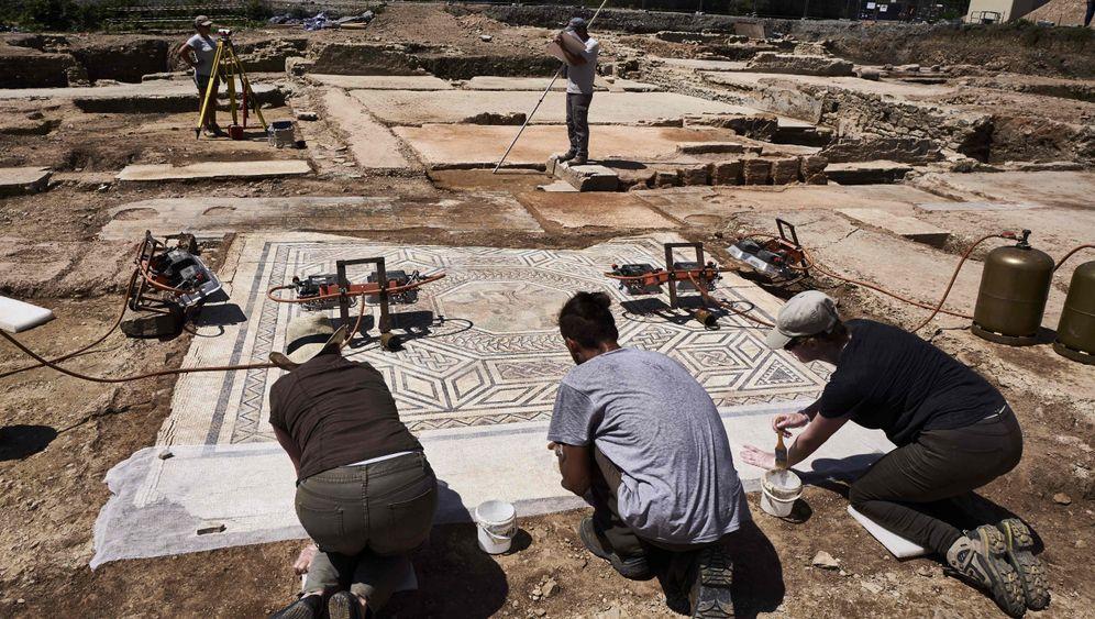 Römerfund in Frankreich: Begraben unter Asche