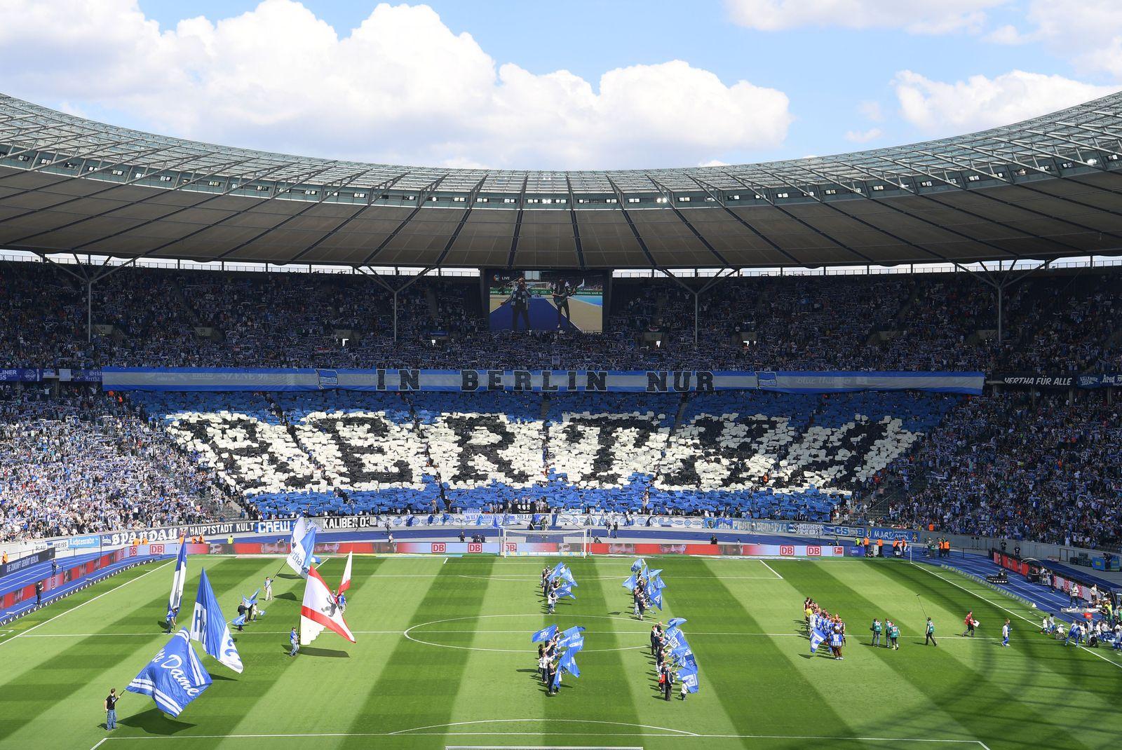 EINMALIGE VERWENDUNG Hertha / Stadion
