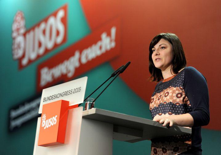 Juso-Chefin Uekermann: Schwere Vorwürfe gegen SPD-Chef Gabriel