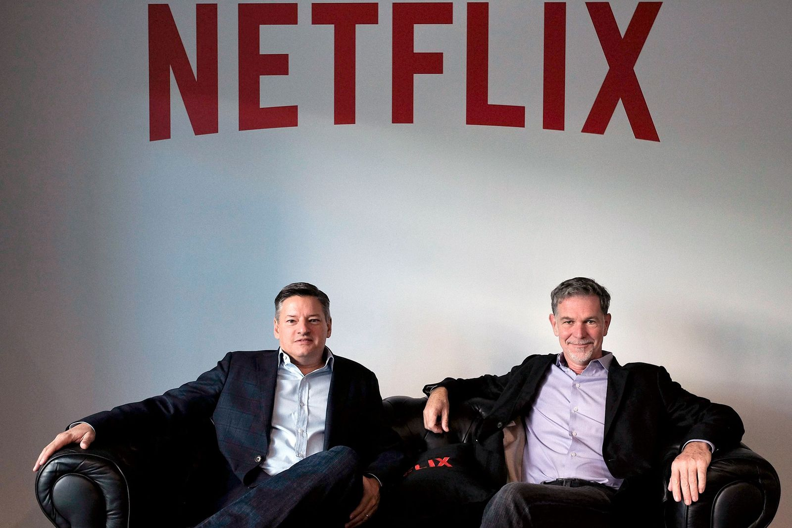Netflix/ Sarandos & Hastings