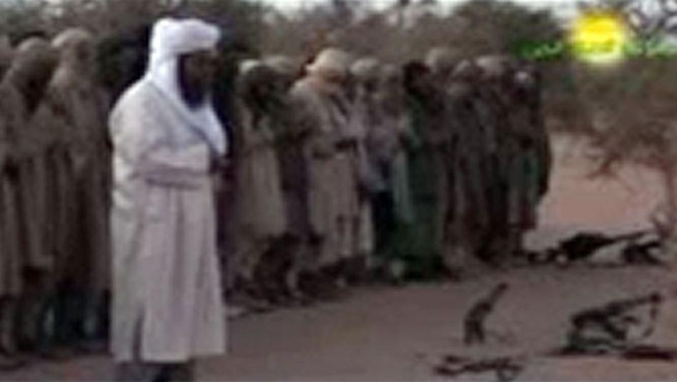 Islamistische Truppen: Anhänger der malischen Rebellengruppe Ansar Dine