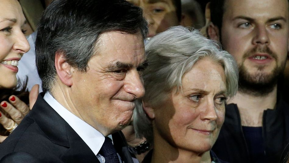François Fillon und seine Frau Penelope