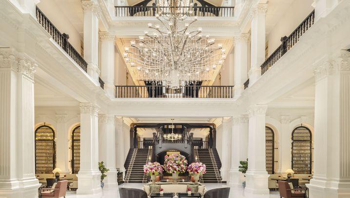 Raffles Singapore: Die Wiedereröffnung einer Hotel-Ikone