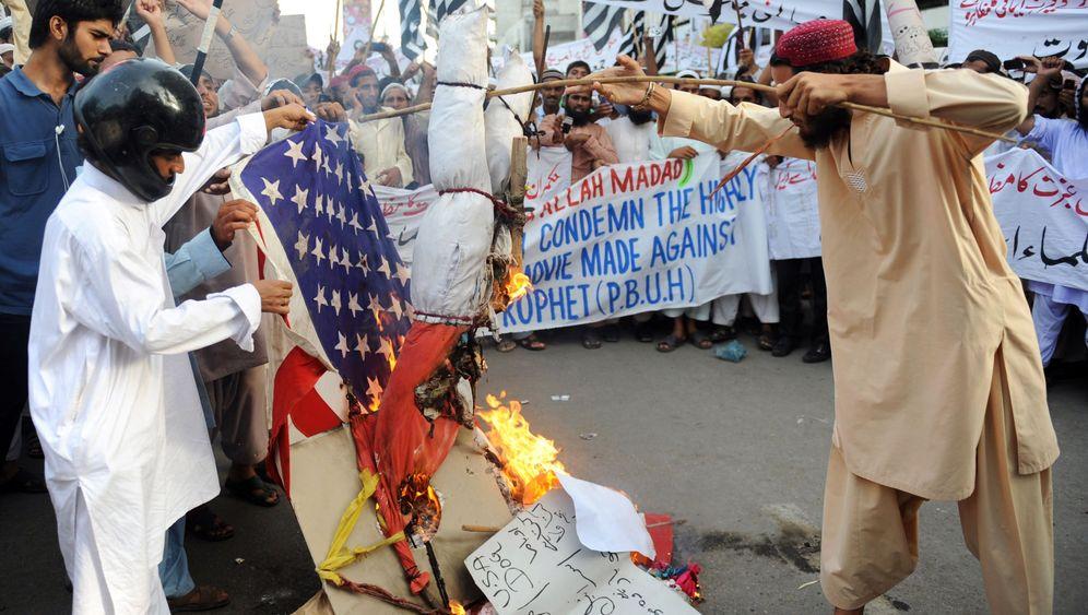 Afghanistan und Pakistan: Prosteste gegen Amerika