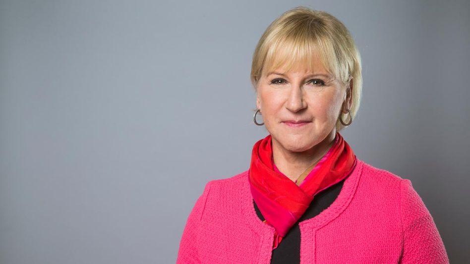 Schwedische Außenministerin Margot Wallström