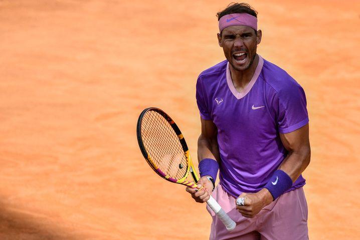 Nadal setzte sich im Halbfinale gegen Reilly Opelka in zwei Sätzen durch