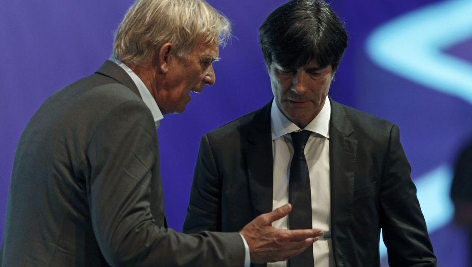 Nationaltrainer Finke, Löw: Testbegegnung kurz vor WM-Start