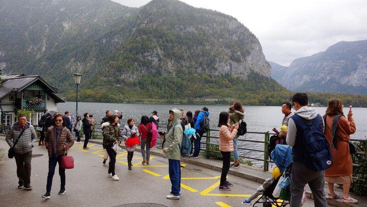 Ostasiaten in Hallstatt: Das kleine Glück in Österreich