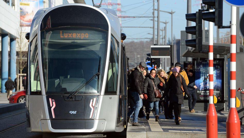 Tram in Luxemburg: Bald braucht man keine Fahrkarte mehr