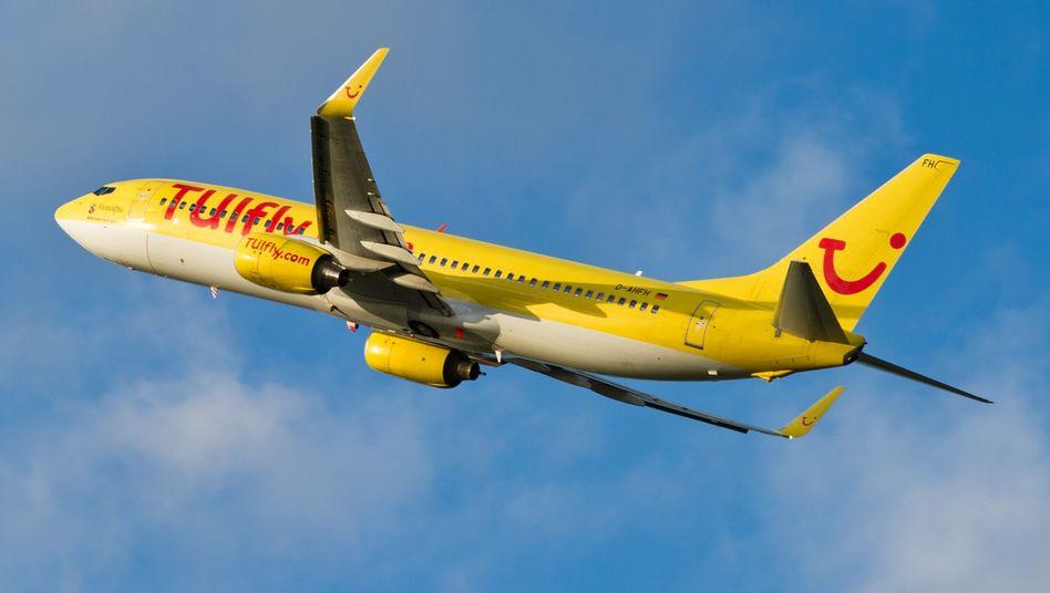 TUIfly-Maschine