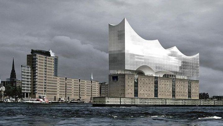 Hamburg baut neues Wahrzeichen: Glaspalast über der Elbe
