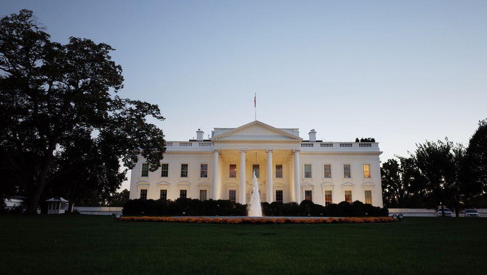 Weißes Haus: Deutscher Besuch in Washington