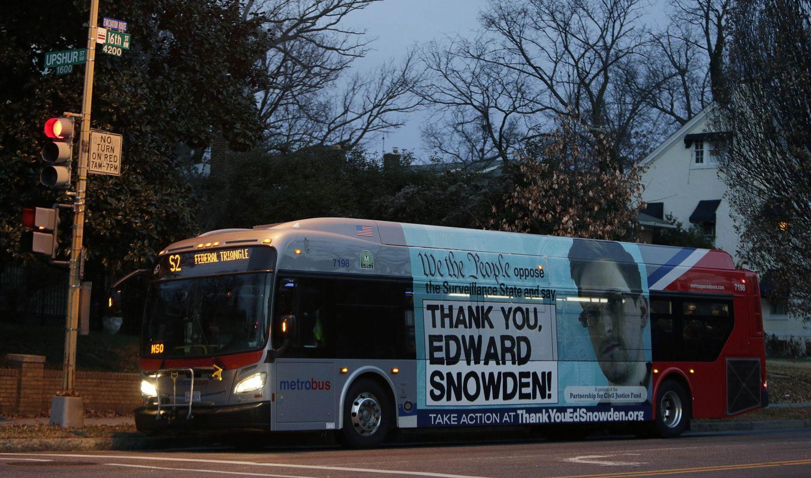 Bus/Washington/Edward Snowden