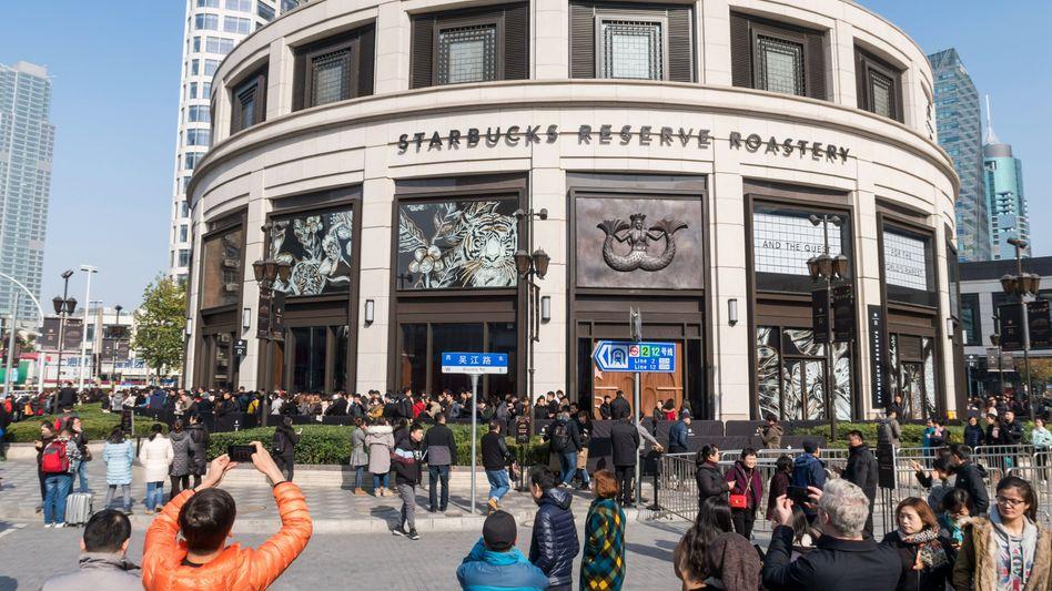 Starbucks-Filiale in Shanghai