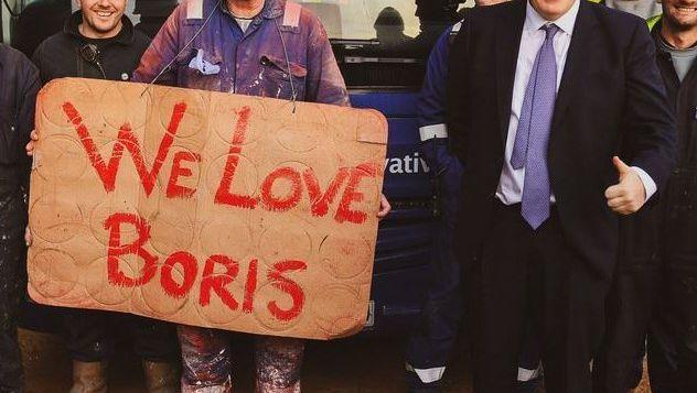 """""""Wir leben in der großartigsten Demokratie der Welt"""", twitterte Boris Johnson nach den ersten Wahlprognosen"""