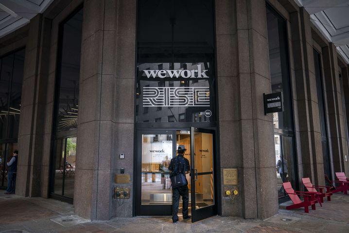 WeWork-Büro in New York: Summe geviertelt