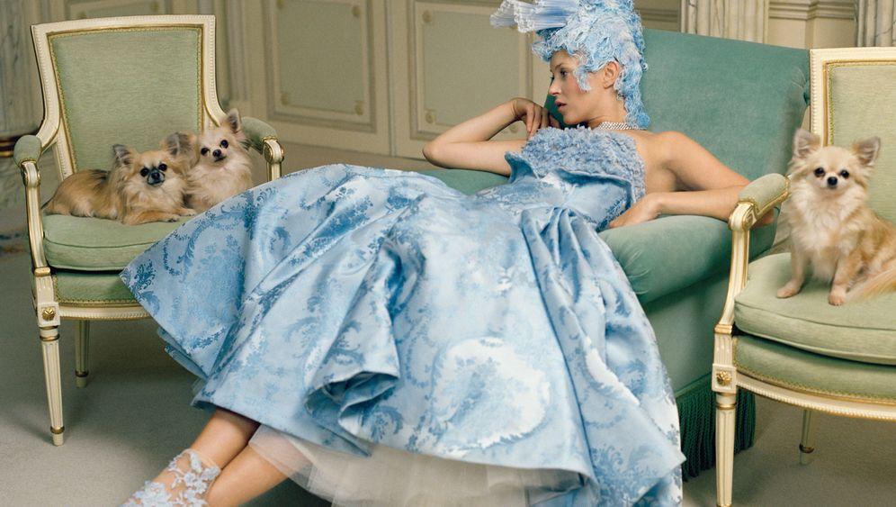 """Fotoshooting für die """"Vogue"""": Moss macht auf Marie Antoinette"""