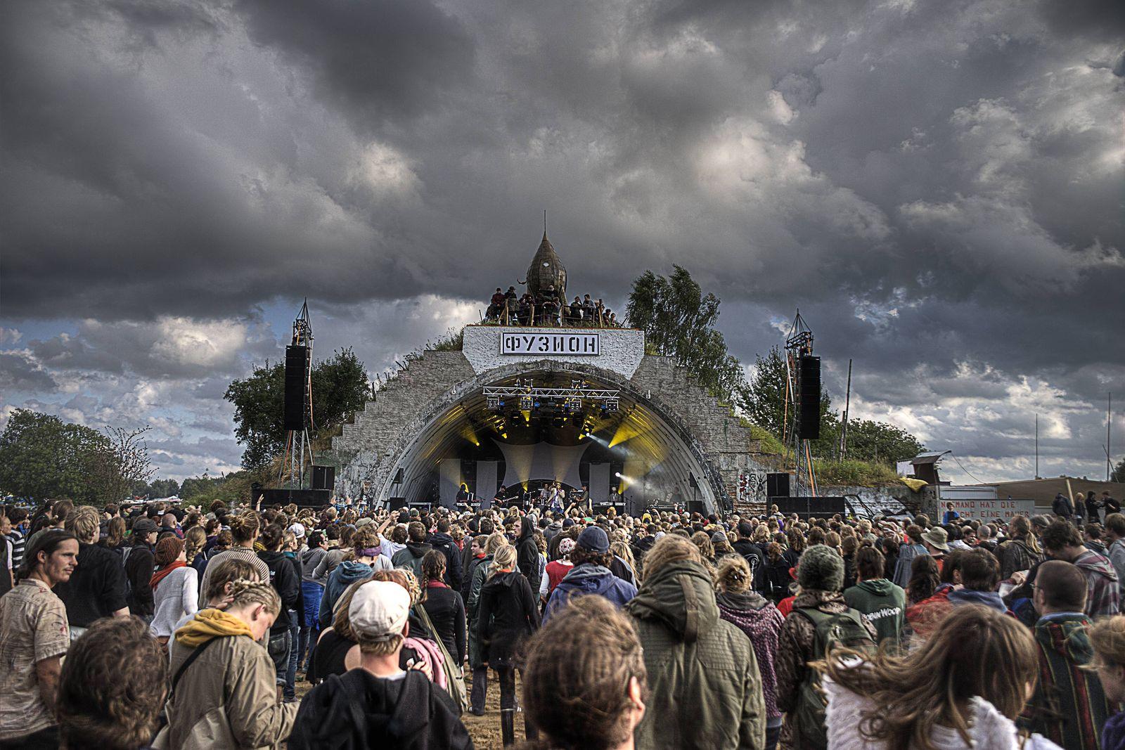 EINMALIGE VERWENDUNG Fusion-Festival