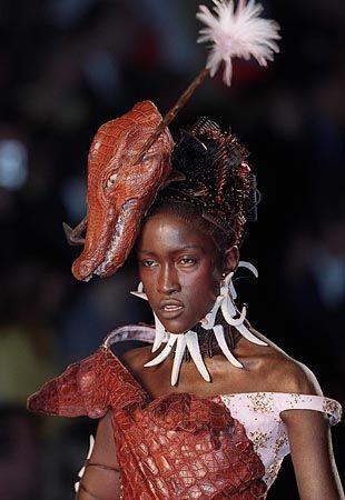 Dior-Modenschau mit Kroko-Outfit: 1500 Euro pro Haut