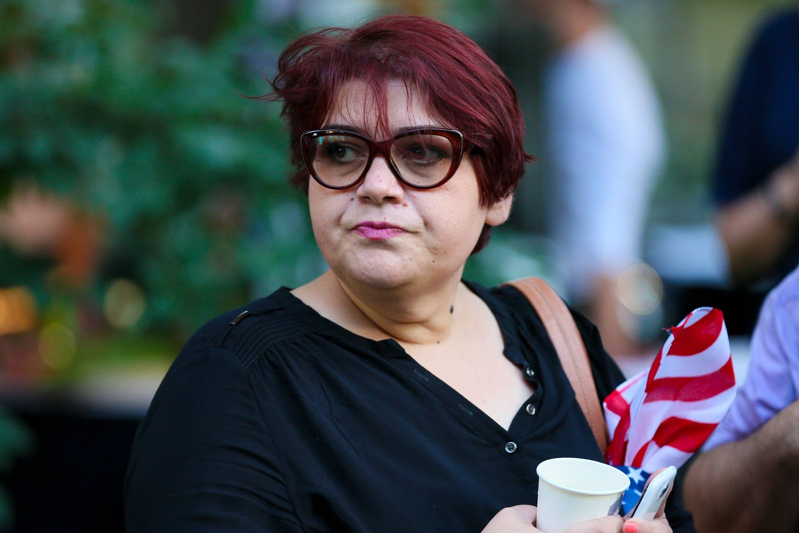 EINMALIGE VERWENDUNG Alternativer Nobelpreis/ Khadija Izmajilowa