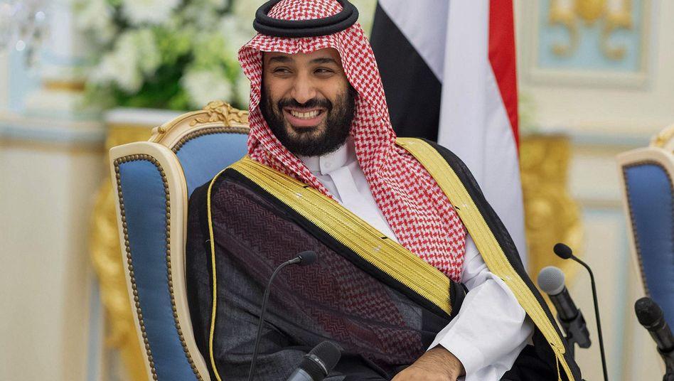 Ist sich seiner Macht sicher: Mohammed bin Salman, Kronprinz von Saudi-Arabien