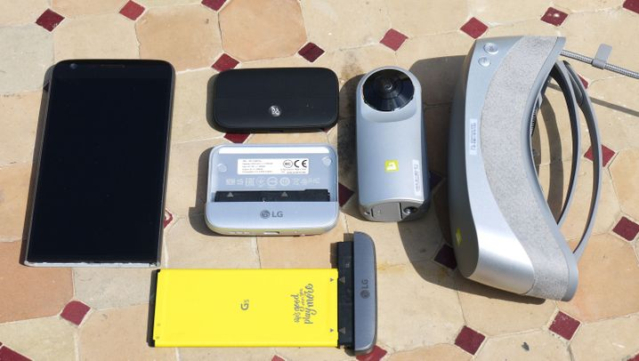 """""""Friends"""": Die Zusatzmodule für das LG G5"""