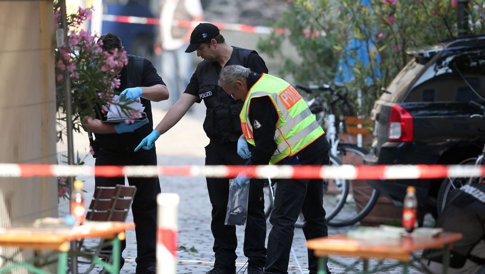 Bayern: Ansbach am Morgen nach dem Anschlag