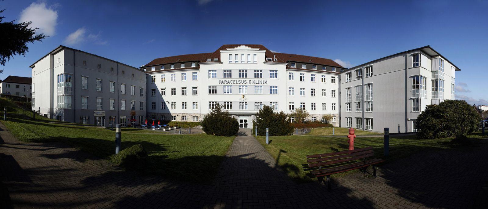 EINMALIGE VERWENDUNG Paracelsus-Klinik