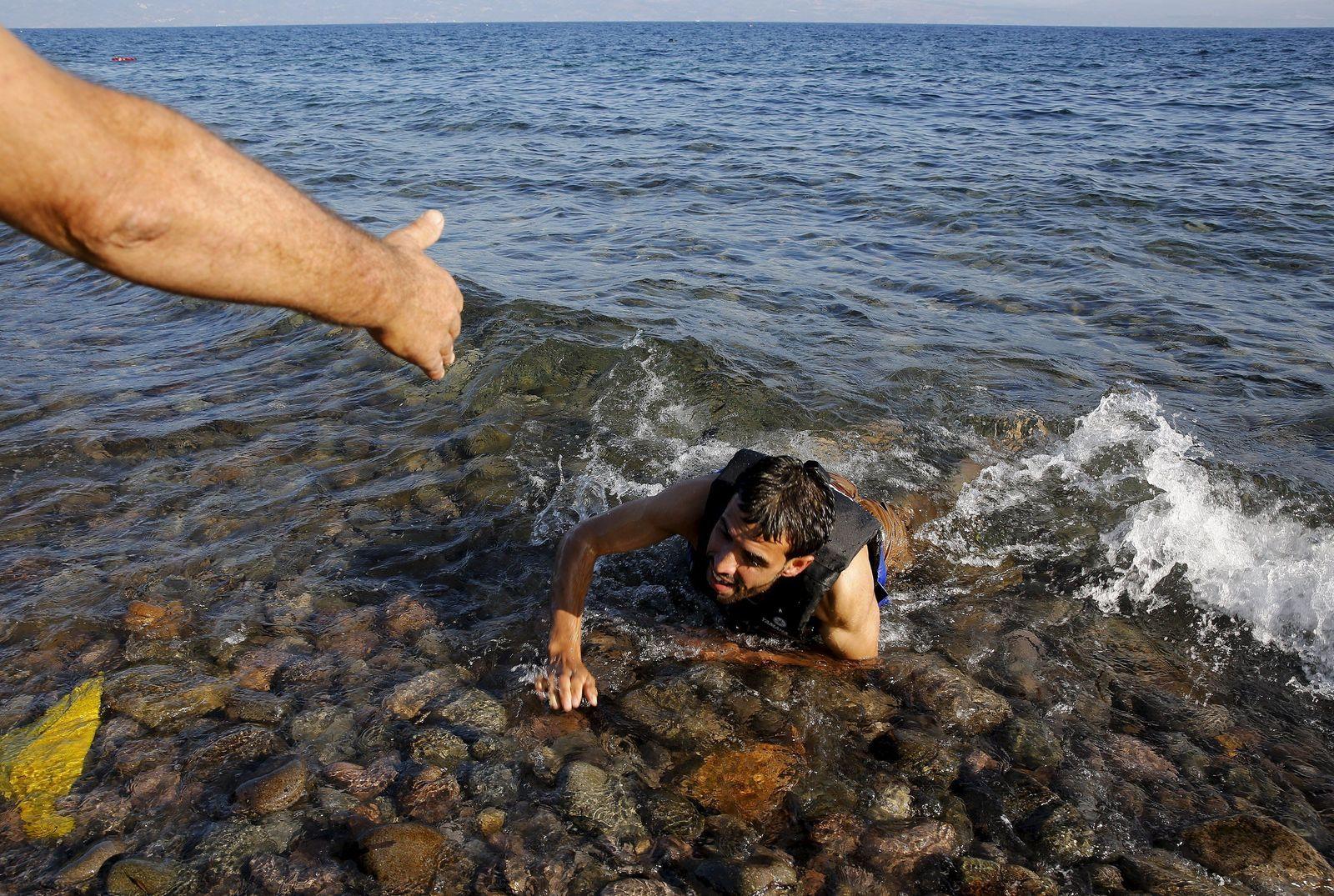 Lesbos / Flüchtlinge / Griechenland