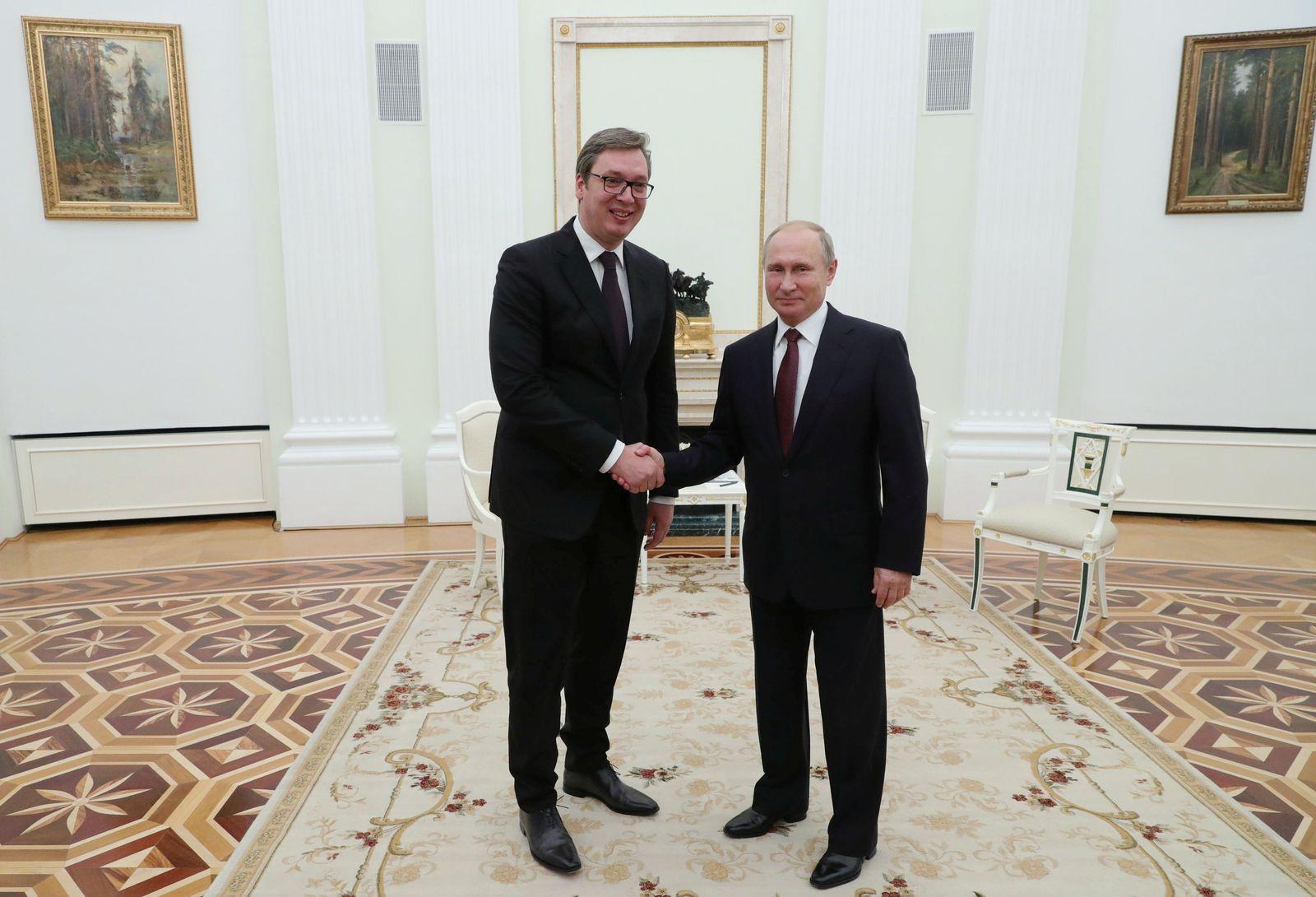 Wladimir Putin/ Aleksandar Vucic