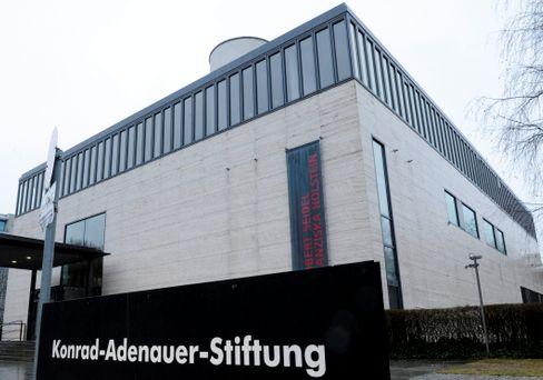 Gebäude der Konrad-Adenauer-Stiftung in Berlin (Archivbild)