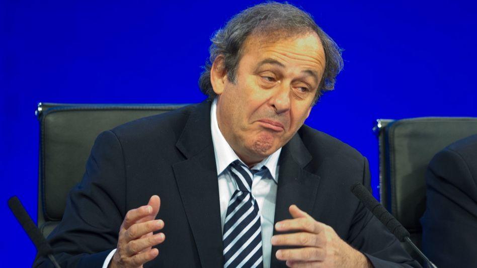 """Uefa-Präsident Platini: """"Es ist ein Vorschlag, der geprüft werden muss"""""""