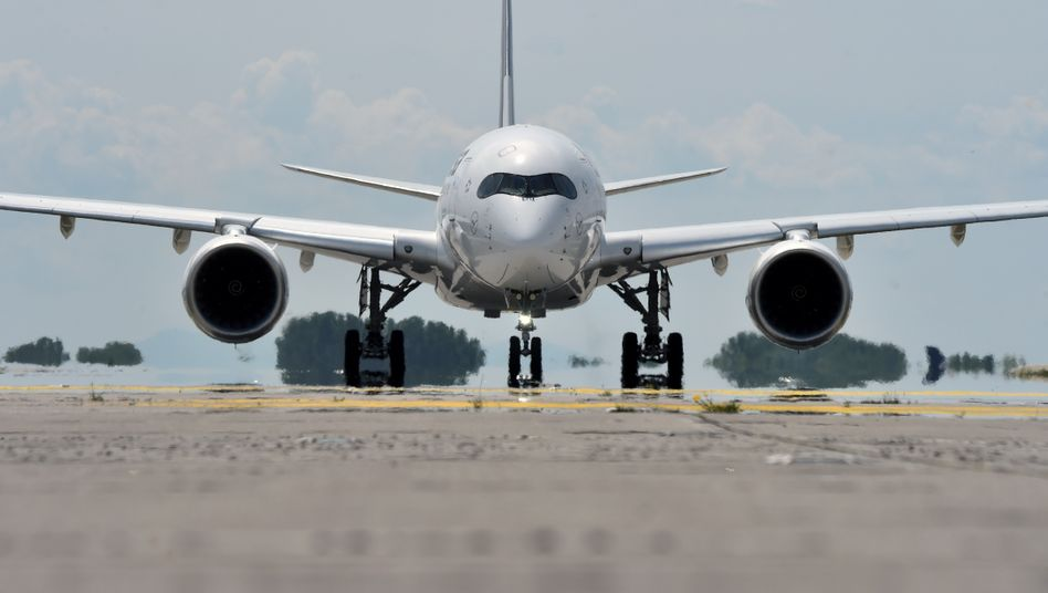 Lufthansa-Airbus A350 (Archivbild)