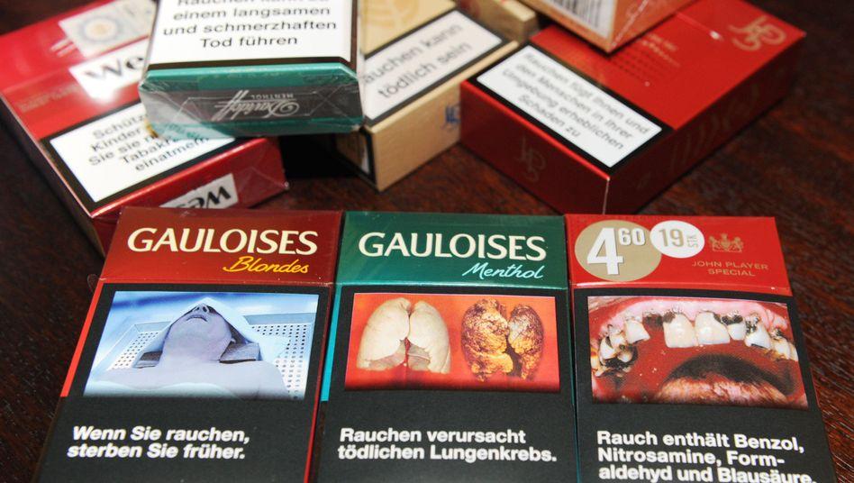Zigarettenpackungen mit Schockbildern: EU-Tabakgesetzgebung verbessert