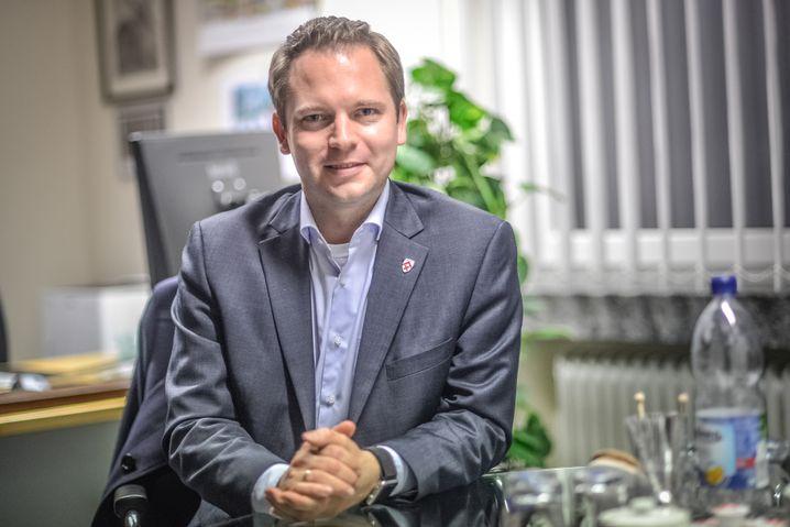 """Bürgermeister Michael Meyer-Hermann: """"Mittlerweile sehr industriell geprägt"""""""