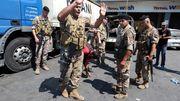 Libanesische Armee bezieht Stellung an Tankstellen